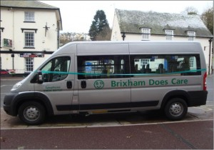 Our Minibus - check out our trips on our Coach Outings page