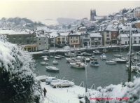 brixham garbour winter 1988