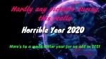 Here's hoping for better 2021